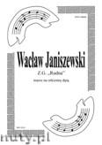 Ok�adka: Janiszewski Wac�aw, ZG Rudna - marsz na orkiestr� d�t� (partytura)