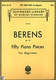 Okładka: Berens Hermann, 50 Pieces Without Octaves, Op. 70