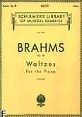 Okładka: Brahms Johannes, Waltzes, Op. 39
