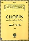 Okładka: Chopin Fryderyk, Waltzes, Book 1