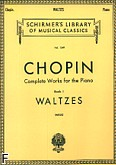 Ok�adka: Chopin Fryderyk, Waltzes, Book 1