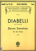 Okładka: Diabelli Antonio, 11 Sonatinas, Op. 151 And 168
