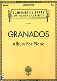 Okładka: Granados Enrique, Album For Piano