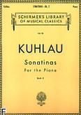 Okładka: Kuhlau Friedrich Daniel Rudolf, Sonatinas - Book 2