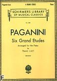 Ok�adka: Liszt Franz, Six Grand Etudes