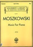 Okładka: Moszkowski Maurycy, Music For Piano