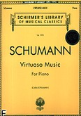 Okładka: Schumann Robert, Virtuoso Music For Piano