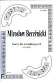 Okładka: Bereźnicki Mirosław, Gamy dla początkujących na trąbkę