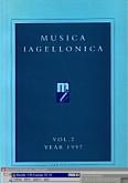 Okładka: Szweykowski Zygmunt Maria, Musica Iagellonica Tom 2 1997