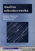 Okładka: Będkowski Stanisław, Cgwiłek Agnieszka, Lindstedt Iwona, Analiza Schenkerowska