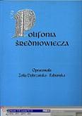Okładka: Dobrzańska-Fabiańska Zofia, Polifonia średniowiecza