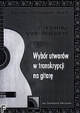 Ok�adka: Bach Johann Sebastian, Z notatnika Anny Magdaleny. Wyb�r utwor�w w transkrypcji na gitar� solo