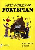 Okładka: Biskupska Małgorzata, Bruce David, Łatwe piosenki na fortepian