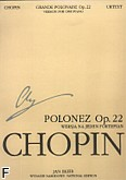 Okładka: Chopin Fryderyk, Grande Polonaise, Op. 22 (FWN) urtext