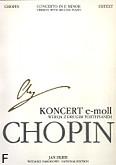 Okładka: Chopin Fryderyk, Koncert e-moll op. 11 tom 6a wersja z drugim fortepianem (WN 30) Urtext