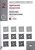 Ok�adka: Dobrowolska-Marucha Danuta, Dyktanda muzuzyczne zeszyt 2, komplet z 3CD