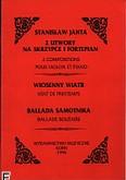 Ok�adka: Janta Stanis�aw, 2 utwory na skrzypce i fortepian