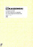 Okładka: Łukaszewski Paweł, O Radix Jesse na chór mieszany a cappella SATB