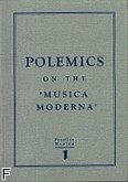 Okładka: Carter Tim, Szweykowski Zygmynt M., Polemnics on the 'Musica Moderna' 1