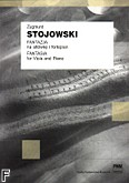 Ok�adka: Stojowski Zygmunt, Fantazja na alt�wk� i fortepian