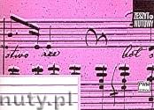 Ok�adka: , Zeszyt nutowy A6 - le��cy,  8 linii na stronie, 16-to kartkowy