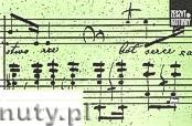 Ok�adka: , Zeszyt nutowy B5 - le��cy, 3 x 2 pi�ciolinie spi�te akolad�, 16-to kartkowy