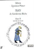 Okładka: Zganiacz-Mazur Liliana, Testy do kształcenia słuchu, klasa III, materiały metodyczne