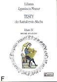Okładka: Zganiacz-Mazur Liliana, Testy do kształcenia słuchu, klasa IV, materiały metodyczne