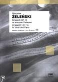 Okładka: Żeleński Władysław, Romans op.16 MS 116