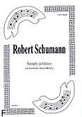 Okładka: Schumann Robert, Śmiały jeździec na kwartet smyczkowy (partytura + głosy)