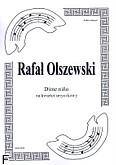 Okładka: Olszewski Rafał, Dime niňo na kwartet smyczkowy (partytura+głosy)