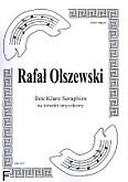 Okładka: Olszewski Rafał, Ihre Klare Seraphim na kwartet smyczkowy (partytura+głosy)