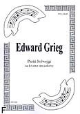 Okładka: Grieg Edward, Pieśń Solwejgi (partytura+głosy)