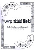 Ok�adka: H�ndel George Friedrich, Juda Machabeusz (fragment) (partytura + g�osy)