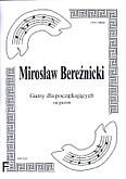 Okładka: Bereźnicki Mirosław, Gamy dla początkujących na puzon