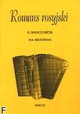 Okładka: Bakalejnikow N.R., Romans rosyjski na akordeon