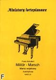 Okładka: Schubert Franz, Marsz wojskowy na fortepian