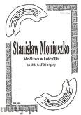 Ok�adka: Moniuszko Stanis�aw, Modlitwa w ko�ci�ku na ch�r SATB i organy