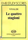 Okładka: Vivaldi Antonio, Le Quattro Stagioni Op. 8 No. 1 (score)