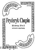 Okładka: Chopin Fryderyk, Etiuda op. 10 na kwartet smyczkowy (partytura + głosy)