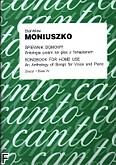 Okładka: Moniuszko Stanisław, Śpiewnik domowy. Antologia pieśni na głos z fortepianem z.4