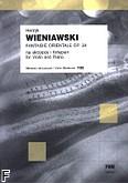 Okładka: Wieniawski Henryk, Fantaisie orientale op. 24 na skrzypce i fortepian MS