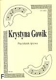 Okładka: Gowik Krystyna, Pięciolatek śpiewa