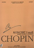 Okładka: Chopin Fryderyk, Koncert f-moll op. 21 wersja na jeden fortepian (WN 14) Urtext