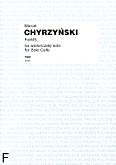 Okładka: Chyrzyński Marcel, ForMS... na wiolonczelę solo