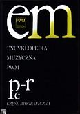 Okładka: , Encyklopedia muzyczna PWM t.8 - PeR