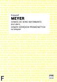 Ok�adka: Meyer Krzysztof, Sonata d�wi�k�w promienistych na fortepian