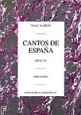 Ok�adka: Alb�niz Isaac, Cantos De Espana, Op. 232 (Complete)