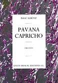 Okładka: Albéniz Isaac, Pavana Capricho Op.12