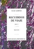 Ok�adka: Alb�niz Isaac, Recuerdos De Viaje Opus 71